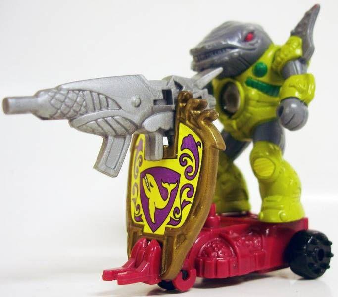 Battle Beasts - #97 Sea Panic \\\'\\\'Shield Battler\\\'\\\' (loose with weapon)