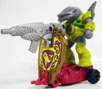 Battle Beasts - #97 Sea Panic \\\'\\\'Shield Battler\\\'\\\' (loose with weapon)