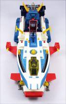 Battle Fever J - Battle Fever & Battle Shark DX - Diecast Robot & Vehicle - Popy (loose)