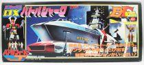 Battle Fever J - Battle Fever & Battle Shark DX - Diecast Robot & Vehicle - Popy Japan