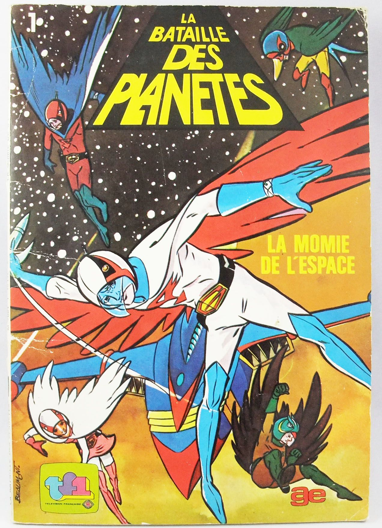 Battle of the Planets - AGE Editions comic book - The Space Mummy
