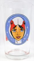 Battle of the Planets - Amora drinking glass - Princess the Swan