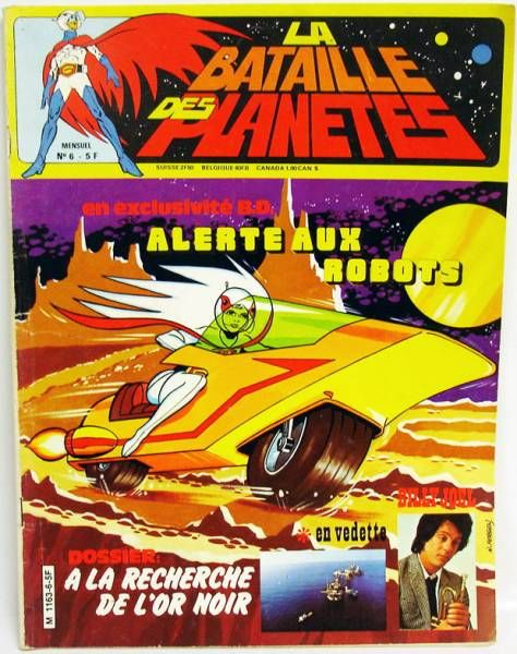 Battle of the Planets - Magazine issue #5