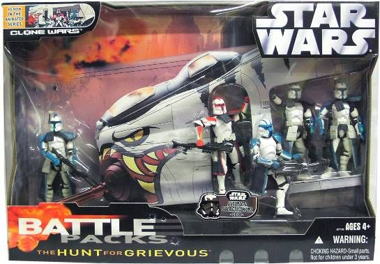 Battle Packs \'\'The Hunt for Grievous\'\'