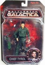 Battlestar Galactica - Diamond Select figure - Chief Galen Tyrol