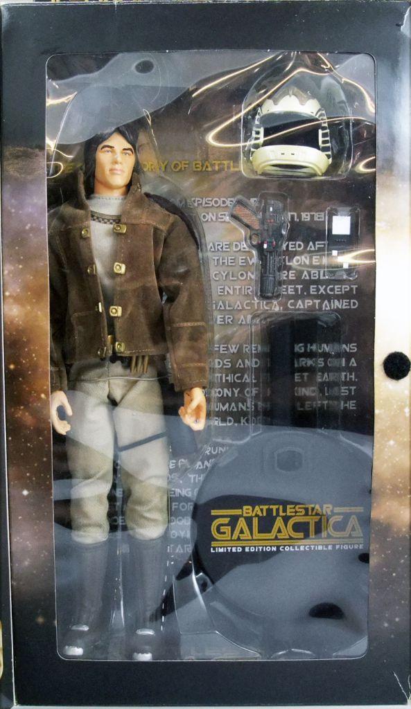 Battlestar Galactica - Figurine 30cm Sideshow / Majestic Studios - Capitain Apollo