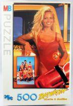 Baywatch Alerte à Malibu - Puzzle 500 pièces MB - C.J. Parker (Pamela Anderson)