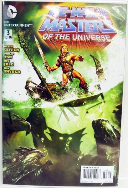 BD - DC Entertainment - Masters of the Universe #3 (2012 series)
