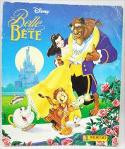 Beauty and the Beast - Panini Stickers collector book 1992