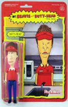 Beavis & Butt-Head - Figurine ReAction Super7 - Burger World Butt-Head