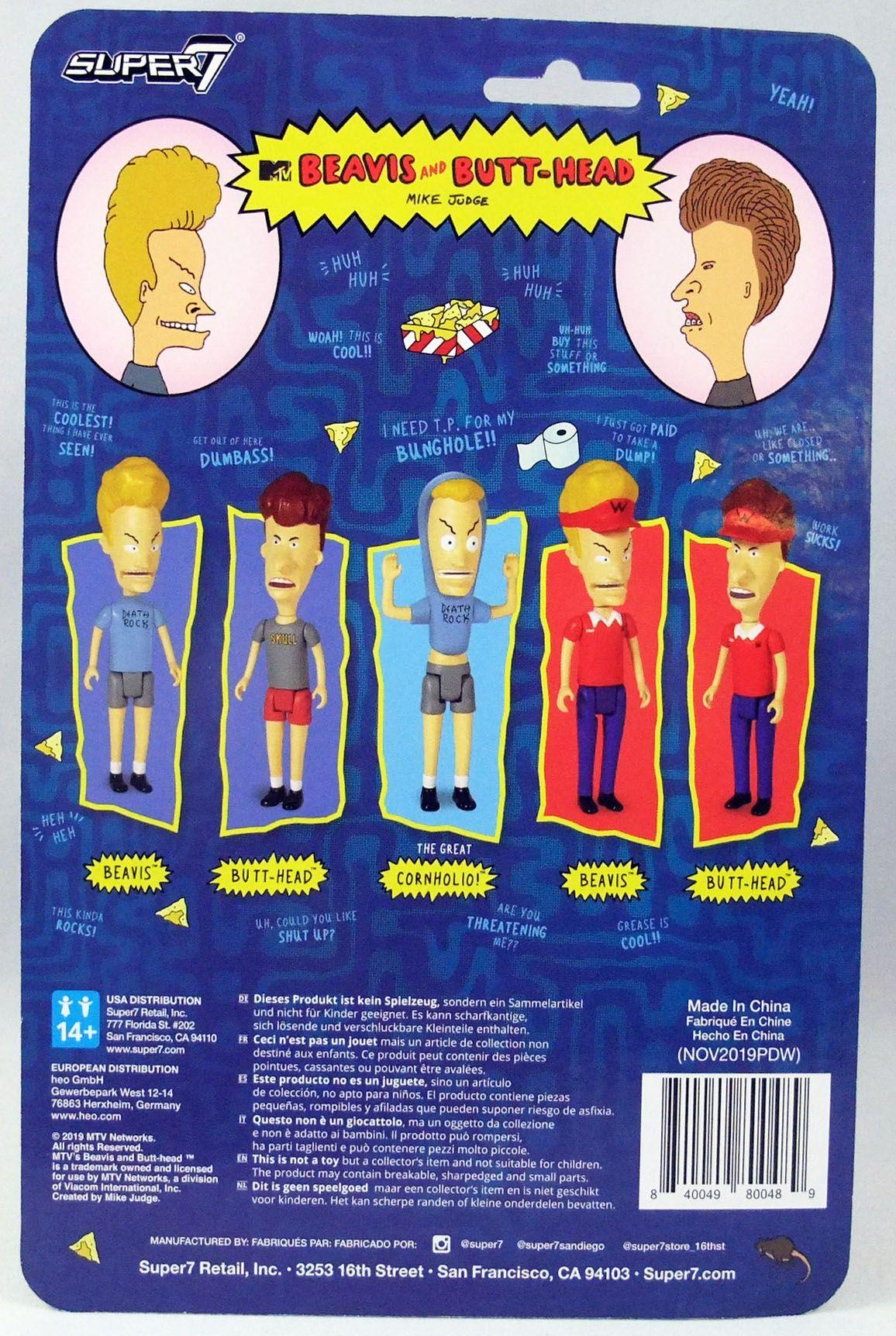 Beavis & Butt-Head - Figurine ReAction Super7 - Butt-Head