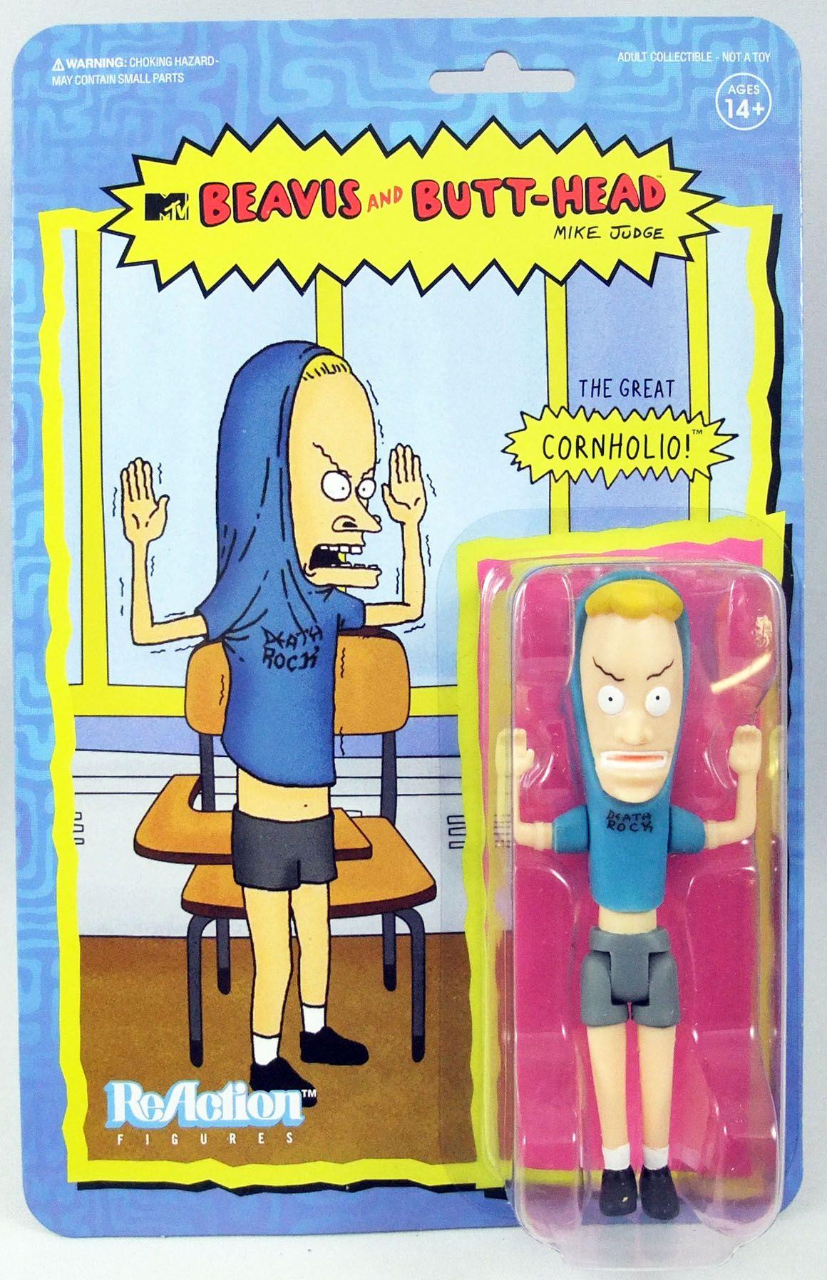 Beavis & Butt-Head - Figurine ReAction Super7 - Cornholio