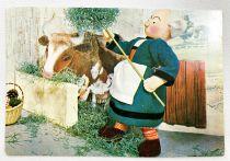 Bécassine - Carte Postale Francesca (1967) - #615 Bécassine à la ferme