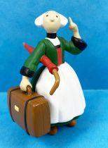 Bécassine - Figurine PVC Plastoy 2002 - Bécassine avec valise & parapluie