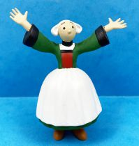 Bécassine - Plastoy PVC Figure 2002 - Raised arms Bécassine