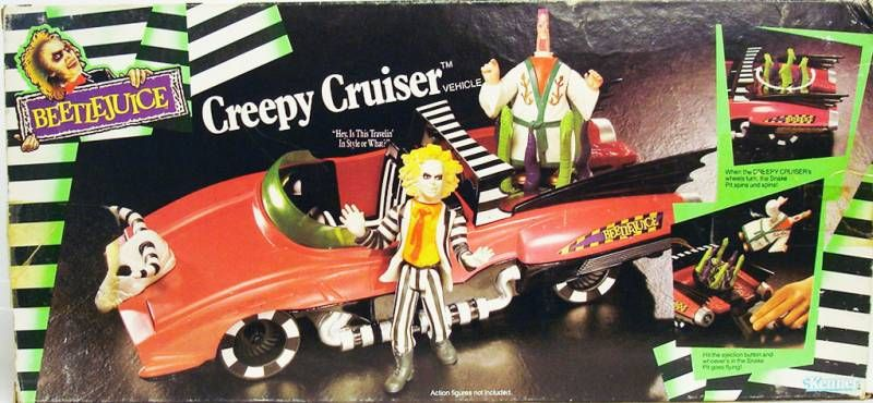 Beetlejuice - Kenner - Creepy Cruiser