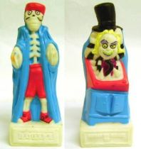 Beetlejuice The Series - \'\'Ghost to Ghost TV\'\' plastic figure