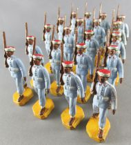 Beffoid - Armée Coloniale Française - 20 Tirailleurs Marocains Défilant Fusil Épaule
