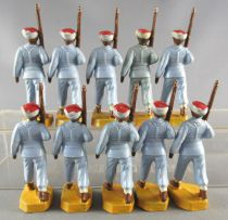 Beffoid - French Colonial Army - 20 Pieces Moroccans Infantry Marching Rifle Shoulder