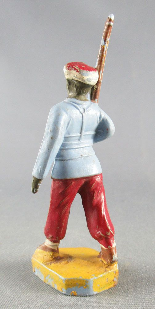 Beffoid - French Colonial Army - Enlisted Infantry Red Pants Marching Brown Rifle Shoulder