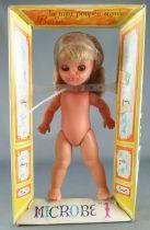 Bella - Mini Poupée Articulée 19 cm - Microbe 1 Blonde Yeux Dormeurs Neuve en Boite