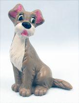 Belle et le clochard - Figurine PVC Bully - Clochard (marron)
