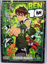 Ben 10 - Sticker Album Collecteur de vignettes - Merlin Collection 2008