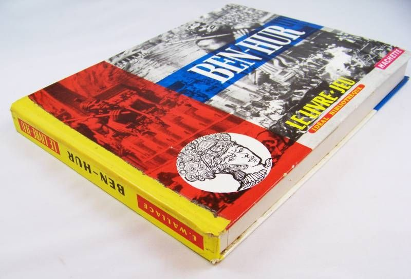 Ben-Hur - Hachette Book-Board Game (Lewis Wallace)
