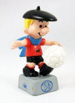 Benoit Brisefer PVC Figure Muco Sportivo - Soccer Player Benoit (with ball)