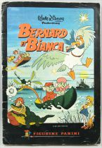 Bernard & Bianca - Panini Stickers collector book 1977 (complete)