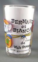 Bernard & Bianca - Verre à moutarde Amora - Evinrude Rufus Penny Annie Bouée Albatros Luke Tortue