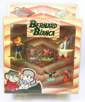Bernard and Bianca - Kid\'M - Set of 6 Disney Classic PVC figures