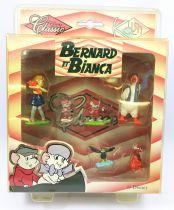 Bernard et Bianca - Kid\'M - Série de 6 figurines PVC Disney Classic