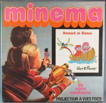 Bernard et Bianca - Meccano France 142057 - Minema Projecteur & 56 Vues Fixes Couleurs Neuf Boite