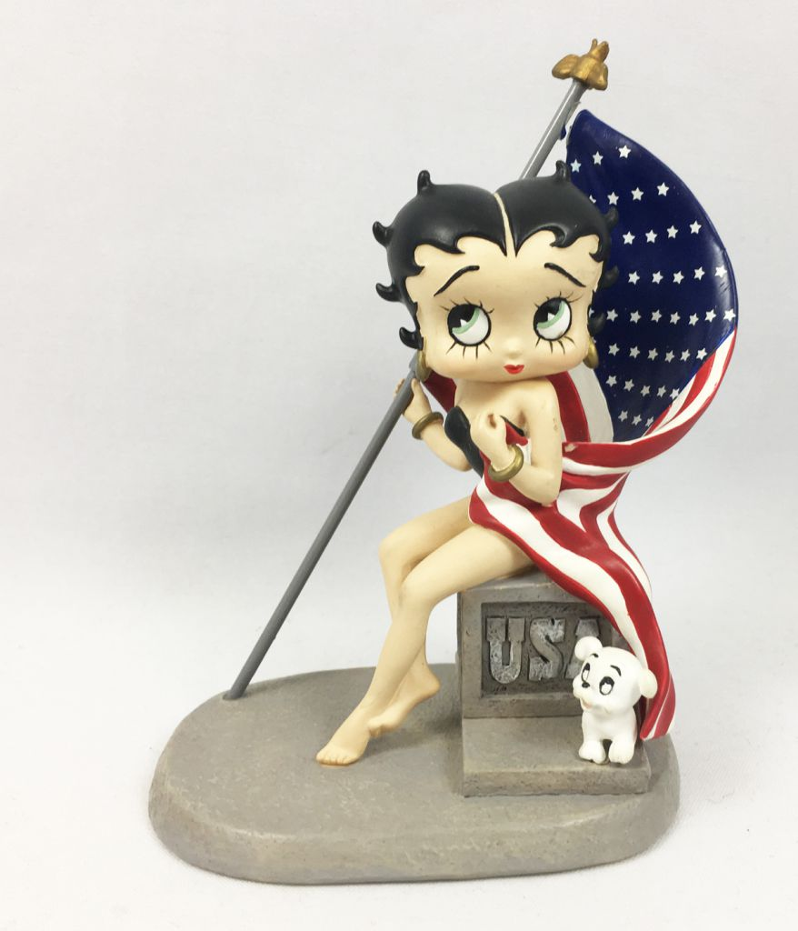 Betty Boop - 5inch Westland Giftware - God Bless America