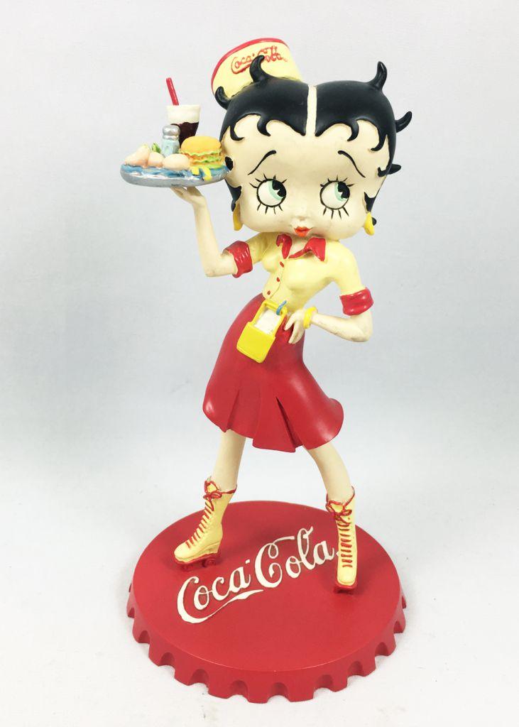 Betty Boop - 8inch Statue Avenue of the Stars - Betty Boop Coca-Cola