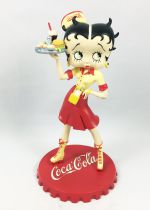 Betty Boop - 8inch Statue Avenue of the Stars - Betty Boop Coca-Cola