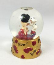 Betty Boop - Boule à Neige Westland Giftware (2005) - Betty Boop & Pudgy