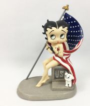 Betty Boop - Statuette 13cm Westland Giftware (2001) - God Bless America