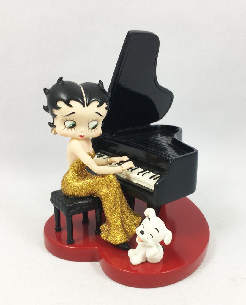 Betty Boop - Statuette 13cm Westland Giftware (2001) - Le Concert de Pudgy