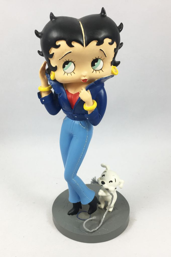 Betty Boop - Statuette 17cm Avenue of the Stars - Betty Boop et son chien