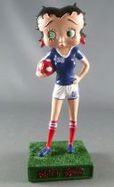 Betty Boop Footballeuse - Figurine Résine M6 Interactions