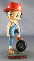 Betty Boop Garagiste - Figurine Résine M6 Interactions