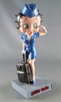 Betty Boop Hôtesse de l\'air - Figurine Résine M6 Interactions