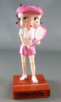 Betty Boop Joueuse de Tennis - Figurine Résine M6 Interactions
