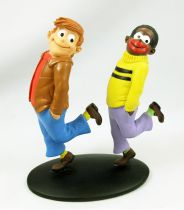 Bibi Fricotin - Resine statue - Bibi Fricotin and Razibus Zouzou