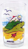 Bibifoc - Amora Drinking Glass - Bibifoc and the Sea Turtle