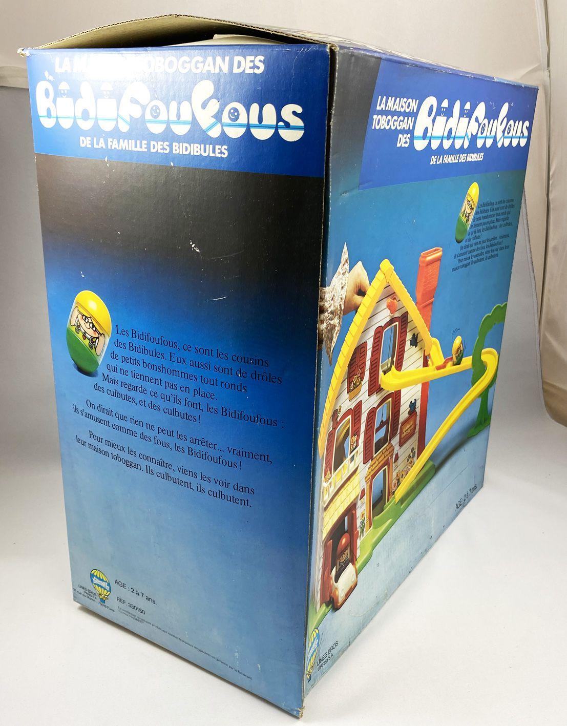 Bidibules - Hasbro (Lines Bros) - La Maison Toboggan des Bidifoufous(neuve en boite)