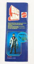Big Jim - Catalogue/dépliant Mattel Europe 1982 - Série Espionnage