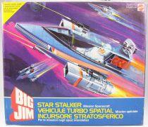 Big Jim - Série Commando - Star Stalker / Vehicule Turbo Spatial neuf en boite (ref.9419)